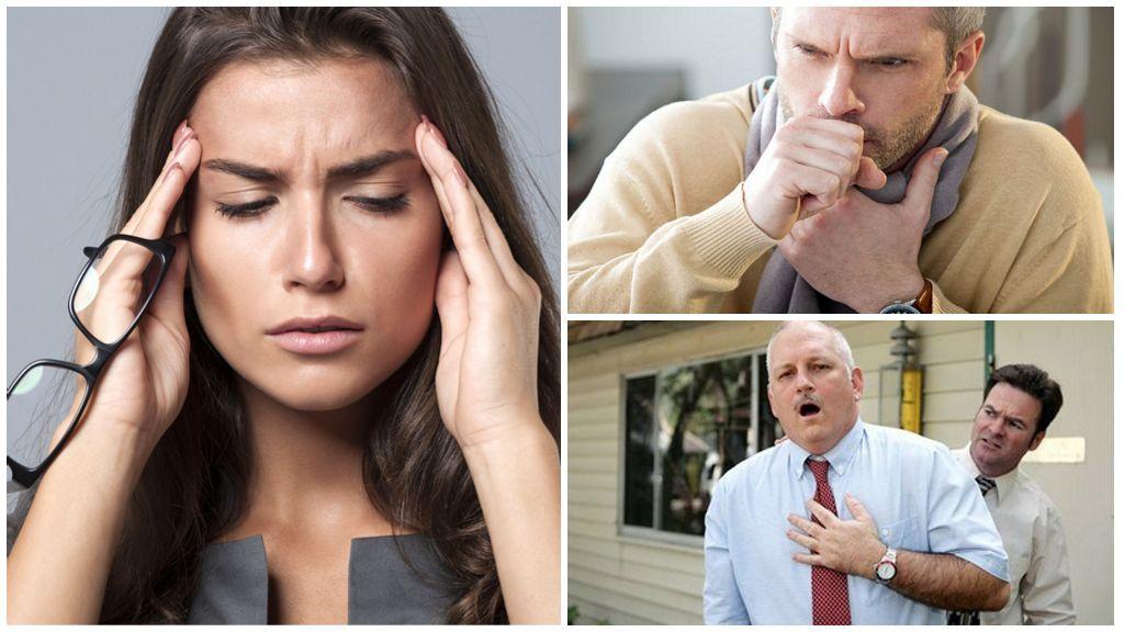 Симптомы локализации лямблий в органах дыхания