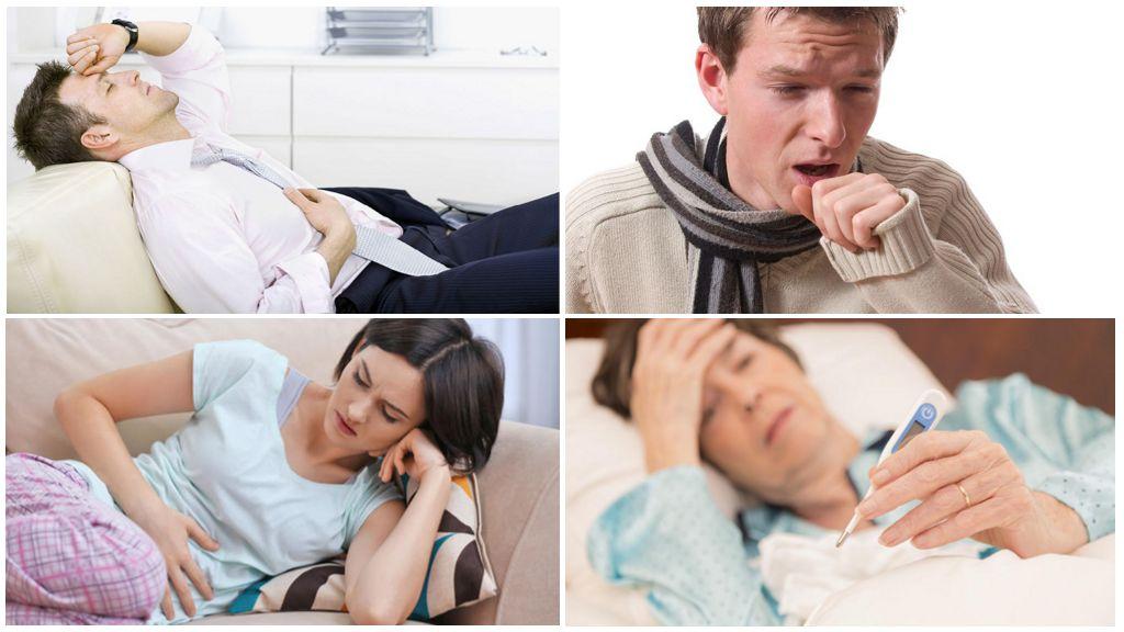 Симптомы аскарид