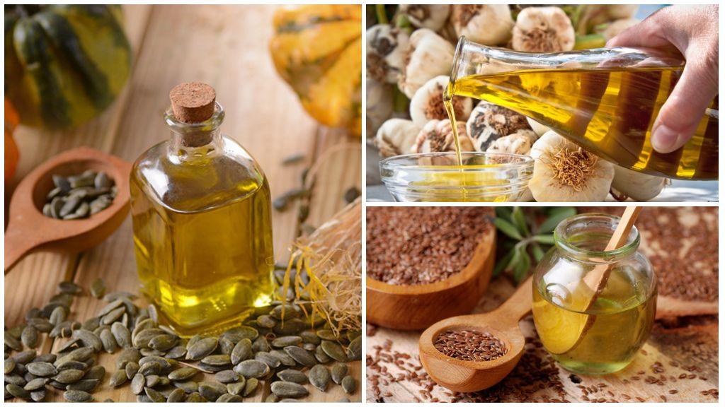 Растительные масла от глистов