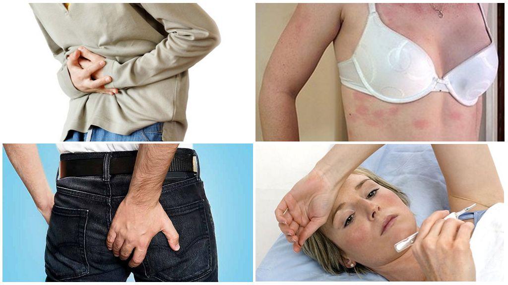 Симптомы глистов в организме