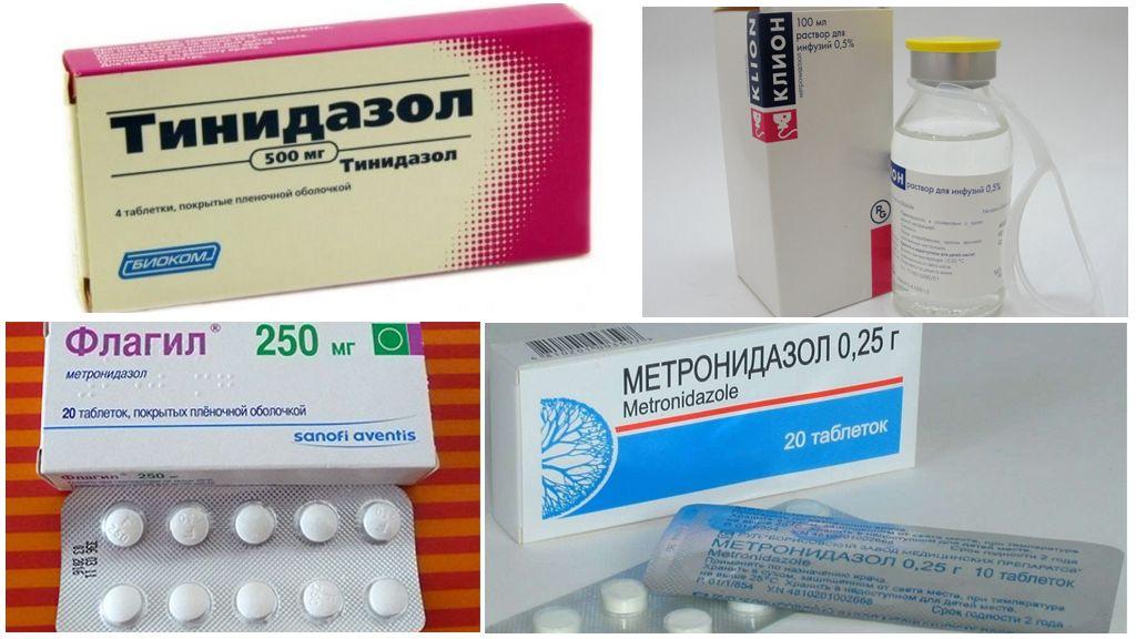 Препараты для борьбы с простейшими