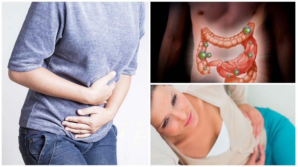 Заболевания, возникающие из-за энтеробиоза