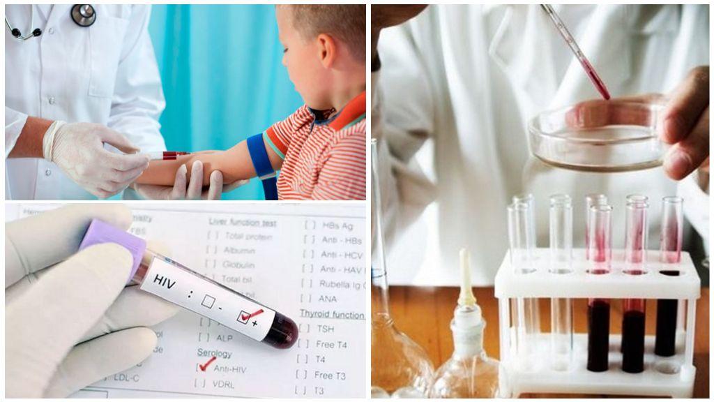 Анализ крови на глистов у детей