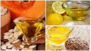 Лечение глистов растительными маслами