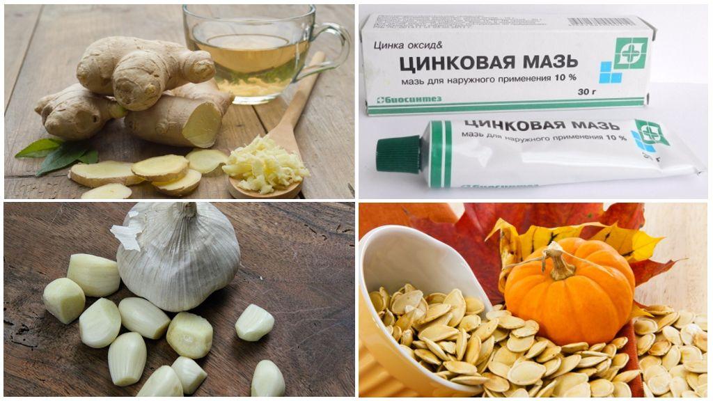 Народные рецепты для борьбы с глистами