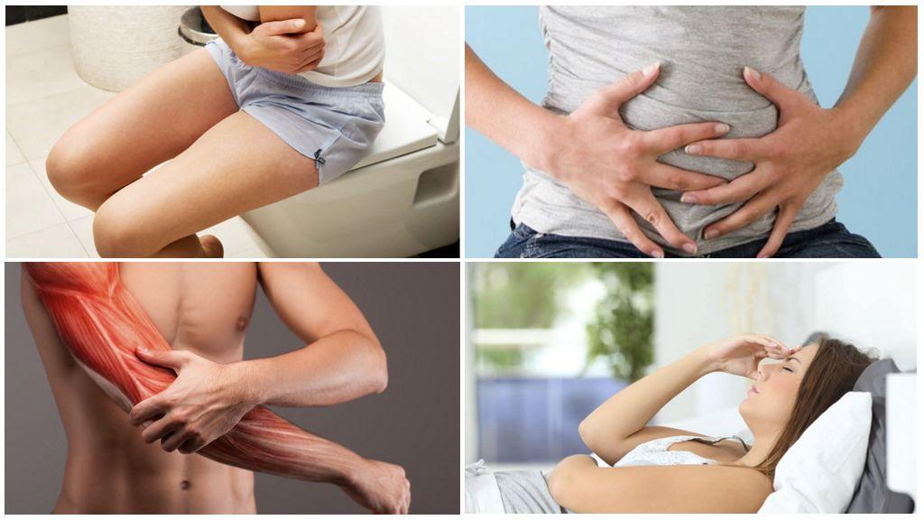 Симптомы наличия паразитов в организме