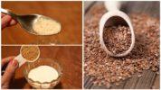 Способы приема семян льна