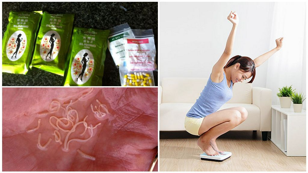 Как завести глистов чтобы похудеть