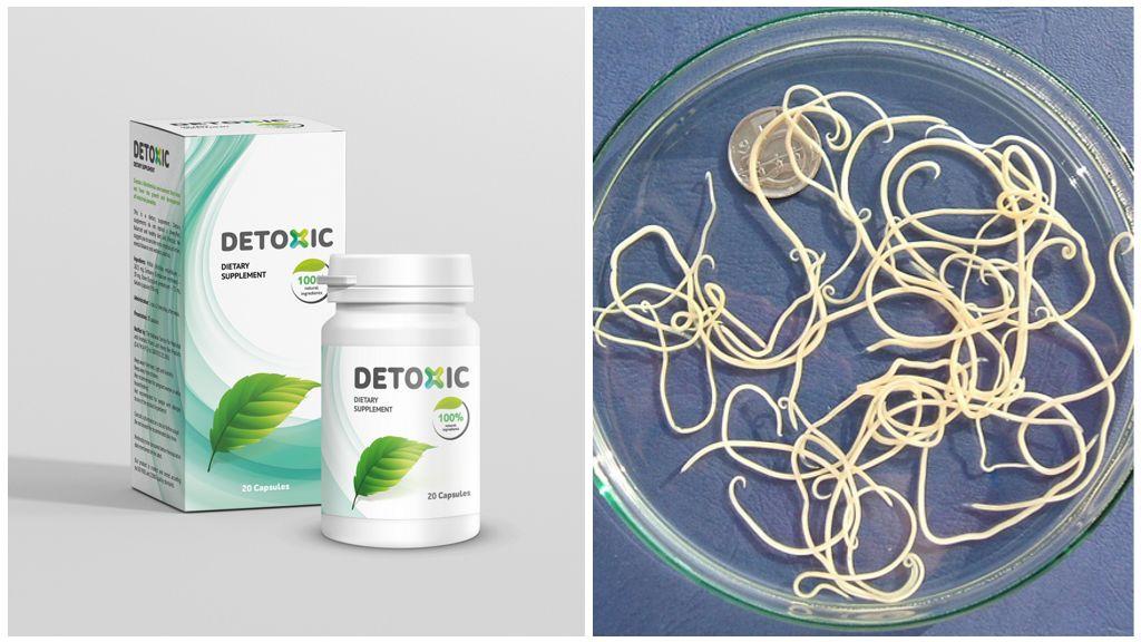 Detoxic от паразитов