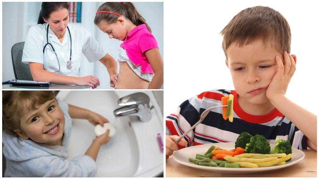 Лечение энтеробиоза у детей
