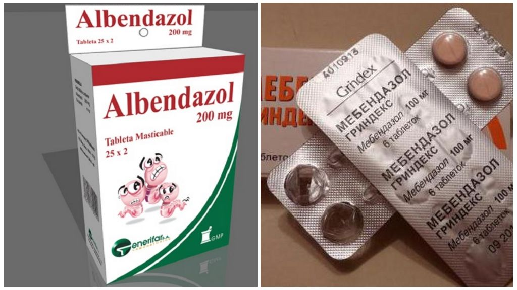 Препараты от эхинококка